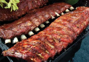 Ribs & Seafood Menu